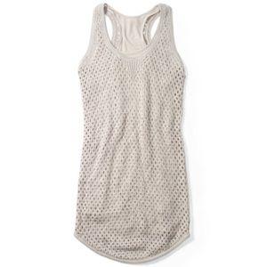 NWOT CLUB MONACO ABIGAIL LINEN CROCHET DRESS